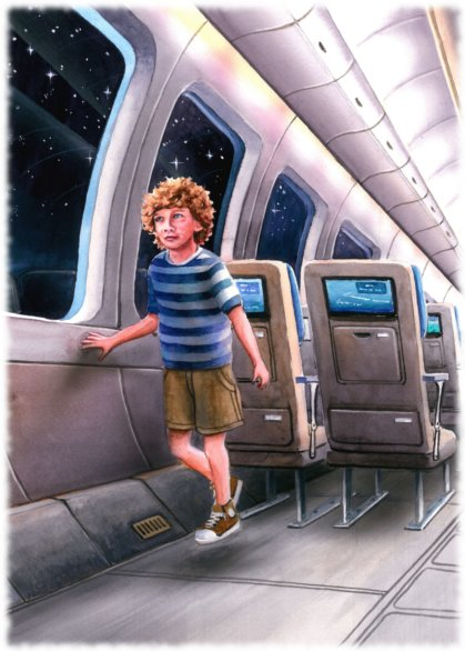 """Волшебный сон в самолете. """"Пробуждение"""""""