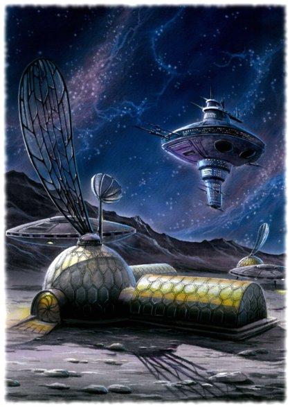 """База пришельцев на Луне. """"Пробуждение"""""""